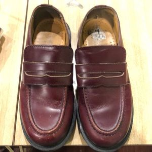 Dr. Martins Burgundy Creepers